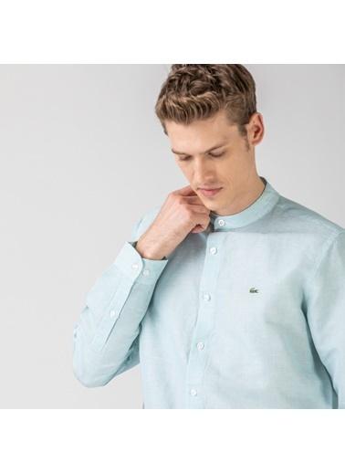 Lacoste Erkek Slim Fit Gömlek CH0052.52Y Mavi